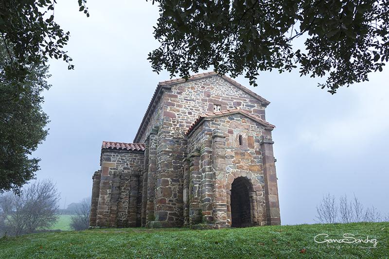 Santa Cristina de Lena. Invierno