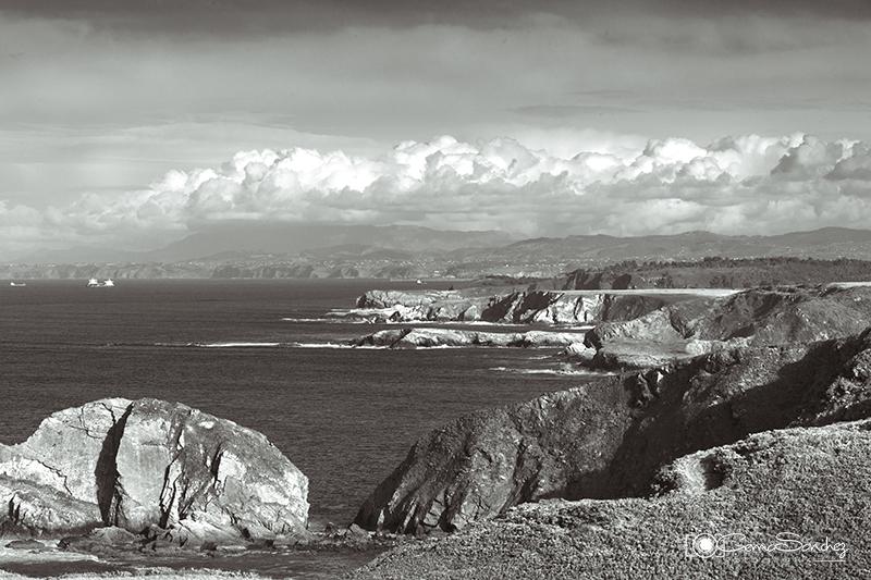 Cabo Peñas en invierno