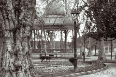 Avilés, parque del Muelle