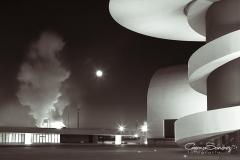 Niemeyer de noche