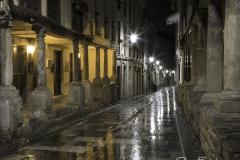 Avilés de noche