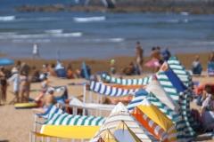 Casetas playa Gijón