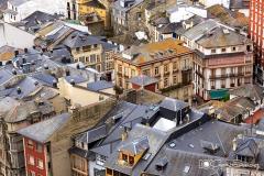 tejados de Luarca