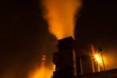 Industria-Avilés-nocturno