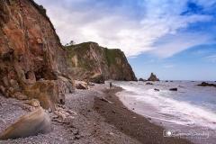 Playa de Campiecho, Valdés