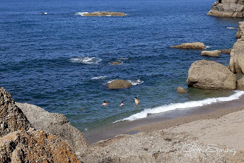 Playa de la Cagonera Gijón