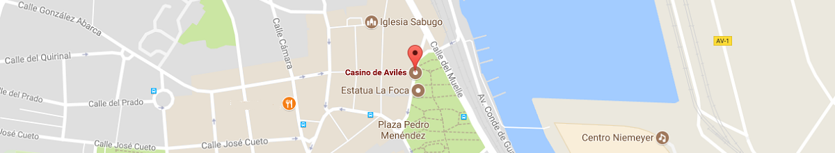 Mapa Casino de Avilés