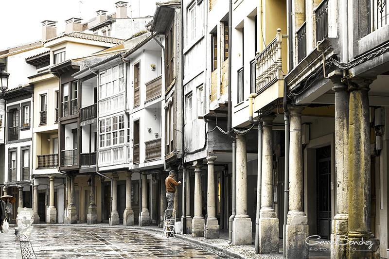 Calle del Avilés medieval