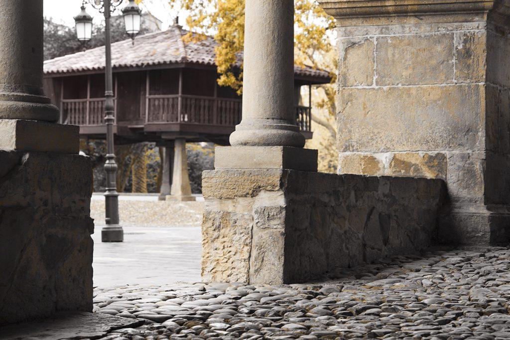 Calle medieval de Avilés