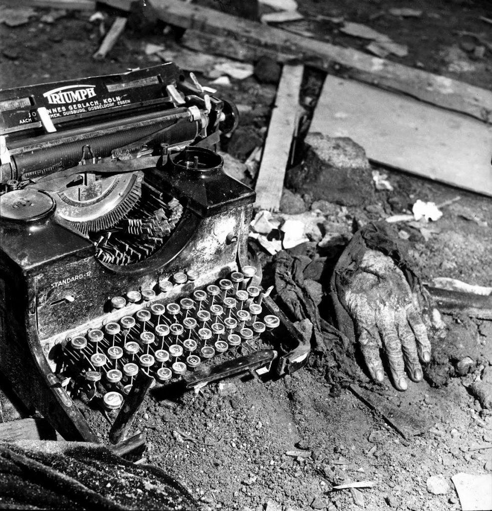 Después de un bombardeo