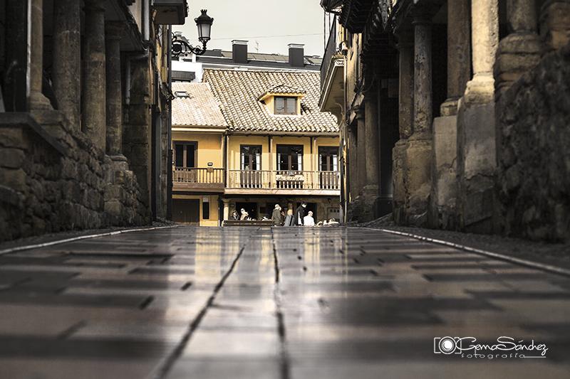 Calle Bances Candamo. Avilés