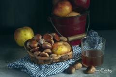 Manzanas y castañas