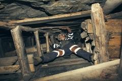 Minero-en-galería