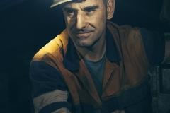 Minero-retrato