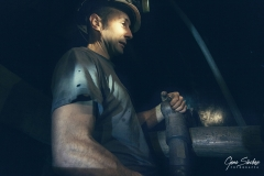 Minero-trabajando
