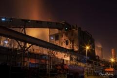 Paisaje-industrial-nocturno-de-Avilés