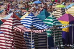 Casetas playa en Gijón