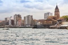 Gijón desde la mar