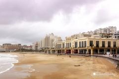Casino y playa de